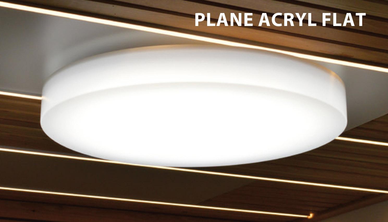 Plane Acryl Flat