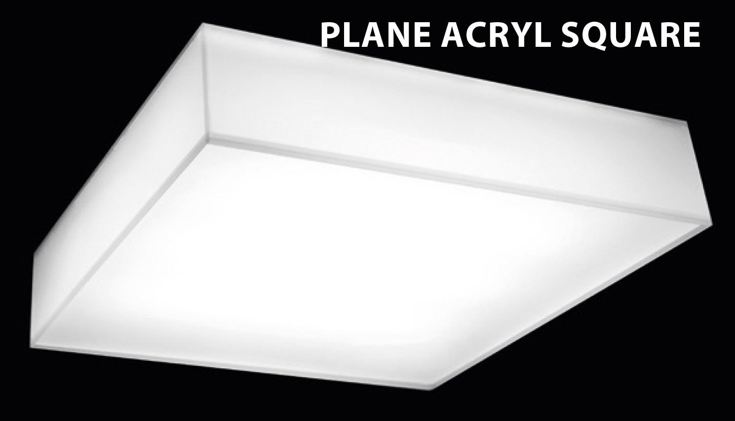 Plane Acryl Square